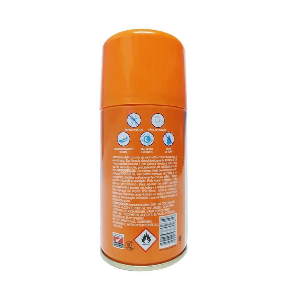 Repelente Contra Insetos proteção intensa seca rápido
