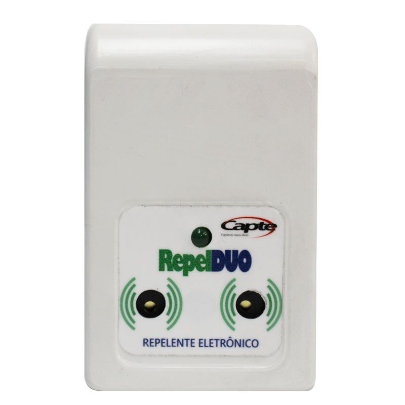 Repelente Eletronico Repel DUO repele pernilongos e mosquitos - Branco