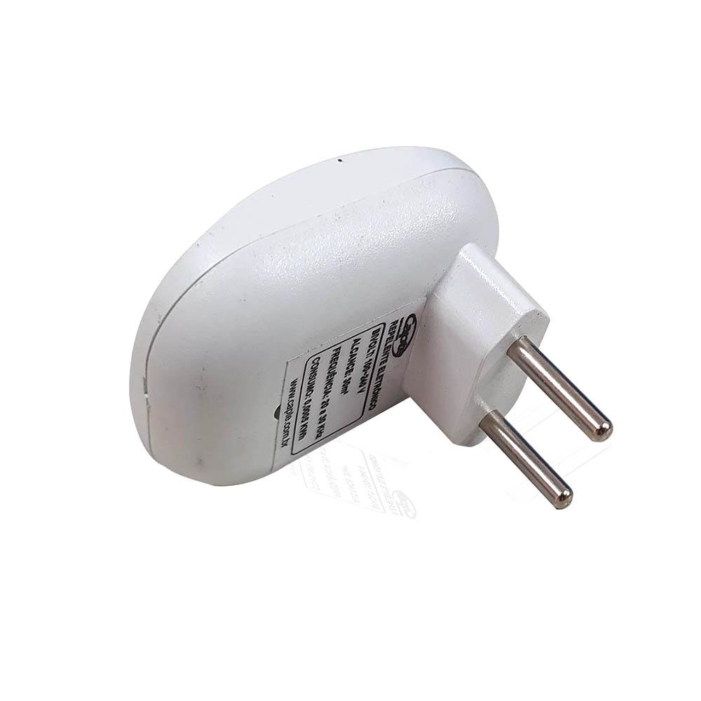 Repelente Eletrônico Repel MAX pernilongos mosquitos - Branco 3un