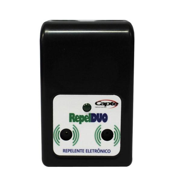Repelente Eletrônico Repelmax Branco, Bivolt, Inaudível, Econômico, Leve 4 Unidades