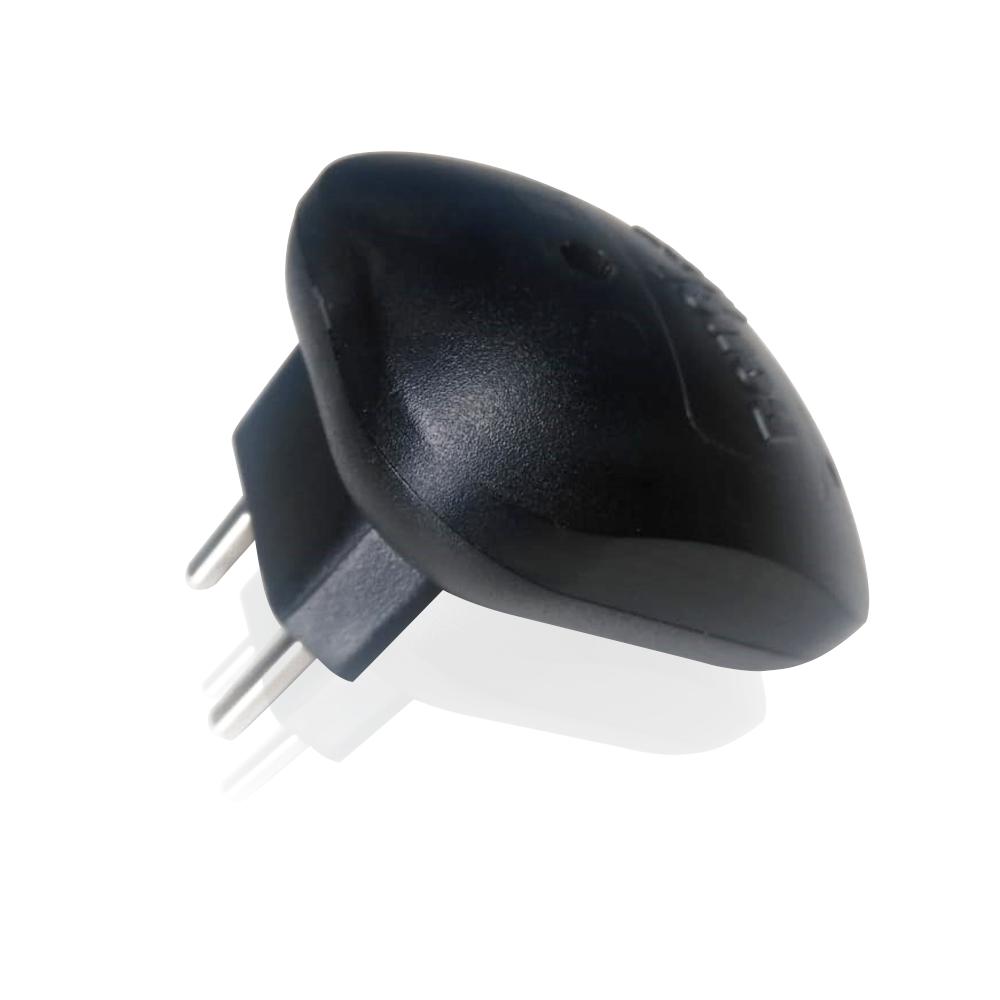 Repelente Eletrônico Repelmax Preto - Bivolt Inaudível - Econômico Leve - 3 Unidades