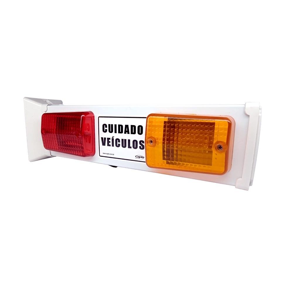 Sinalizador de veicular Garagem Entrada e Saída de Veículos Led - Bivolt Capte LED12