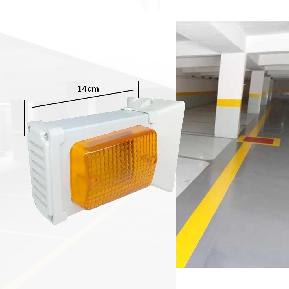 Sinalizador veicular Colunas ou Garagem Visual Capte sem som