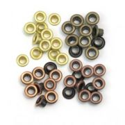 Eyelets Standard Warm Metal - 40 Ilhoses Warm Metal 41583-1