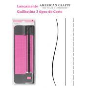 Guilhotina com 3 Tipos de Corte Combo Blade Trimmer 12 American Crafts