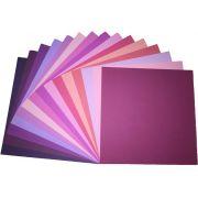 Papel Cardstock Texturizado American Crafts I