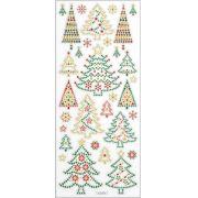 Adesivos Brilho de Glitter - Natal