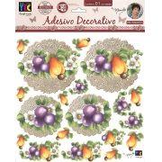 Adesivo Decorativo Frutas by Mamiko