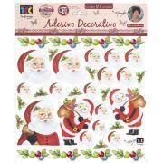 Adesivo Decorativo Papai Noel by Mamiko