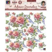 Adesivo Decorativo Rosas Delicadas by Mamiko