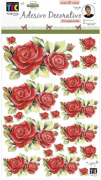 Adesivo Decorativo Transparente Rosas Colombianas by Mamiko