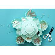 Armazenador de Materiais Mini Bloom Azul We R