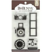 Carimbo Fotografia - Say Cheese Stamp Bo Bunny