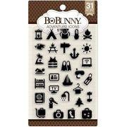Carimbo Ícones de Viagem - Adventure Icons Stamp Bo Bunny