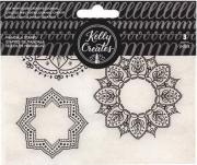 Carimbo Mandalas Kelly Creates