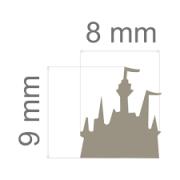 Furador Mini Alavanca (Papel) Castelo