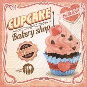 Guardanapo para Decoupage - Amor de Cupcake
