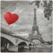 Guardanapo para Decoupage - Amor em Paris