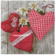 Guardanapo para Decoupage - Corações Delicados