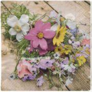 Guardanapo para Decoupage - Flores Campestres