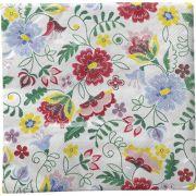 Guardanapo para Decoupage - Flores Estilizadas I