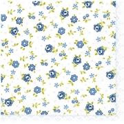 Guardanapo para Decoupage - Florido Azul