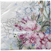 Guardanapo para Decoupage - Orquídeas Coloridas