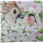 Guardanapo para Decoupage - Pássaros e Flores