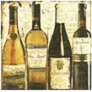 Guardanapo para Decoupage - Vinhos Clássicos
