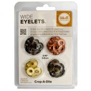 Ilhós Grande Retrô - Wide Eyelets WeR c/ 40 pçs