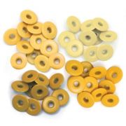 Eyelets Wide Yellow - 40 Ilhoses Yellow 41587-9