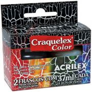 Kit Craquelex Color 2 frascos 37ml  - Acrilex