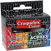 Kit Craquelex Color 2 frascos 37ml  - Acrilex