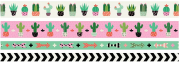 Kit Washi Tapes - Suculentas  We R