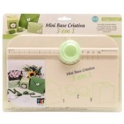 Mini Base Criativa 3 em 1 - Caixas, Laços e Envelopes