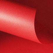 Papel Color Plus Metalizado 180g A4 Maui - Vermelho Metalizado