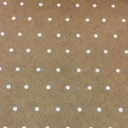 Papel Decorado Kraft Poa 30,5 x 30,5cm