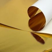 Papel Lamicote Ouro 255g 30,5 x 30,5cm
