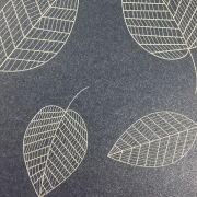 Papel Relux Decorado Folhas Jeans 180g 30,5 x30,5cm