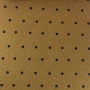 Papel Relux Decorado Poa Capuccino 180g 30,5 x30,5cm