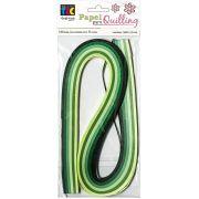 Papel para Quilling Verde
