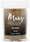 Pó para Emboss Moxy - Metallic Dourado