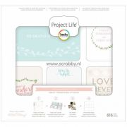 Project Life Kit Southem Weddings - 616 Peças
