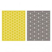 Placa de Textura - LC Embossing Folder Honeycomb