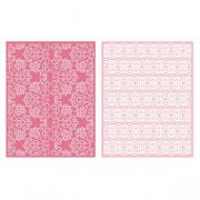 Placa de Textura - LC Embossing Folder Lace