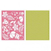 Placa de Textura - LC Embossing Folder Wildflower