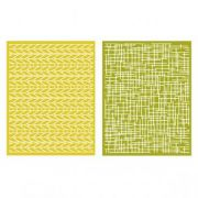 Placa de Textura - LC Embossing Folder Woven