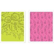 Placa de Textura - Floral Tapestry & Sweet Blooms Set