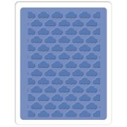 Placa de Textura - Embossing Folder - Nuvem