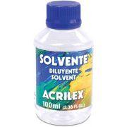 Solvente 100ml Acrilex